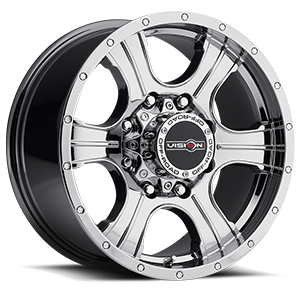 396 Assassin Phantom Chrome 8 lug