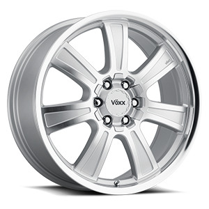 Vöxx Road Wheel Turin 6 Silver Mirror Machined Face and Lip