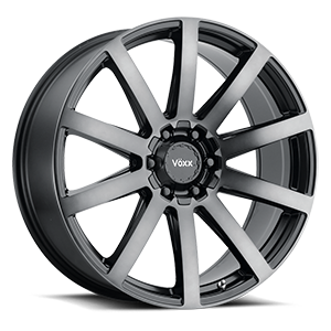 Vöxx Road Wheel Vento 6 Gloss Black with Dark Tint Face