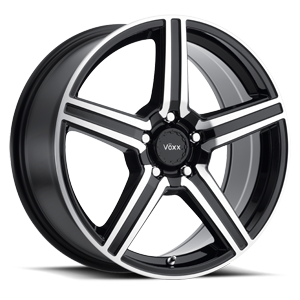 Vöxx Road Wheel Como 5 Gloss Black Machined Face