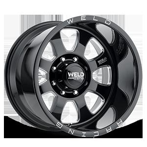 Weld XT Renegade 8 Black Milled Contrast Cut