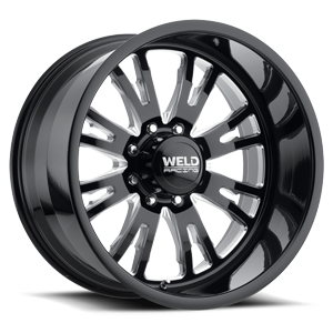 Weld XT Slingblade 8 Black Milled Contrast Cut