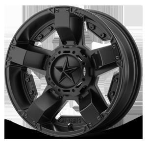 XS811 Rockstar II Satin Black 4 lug