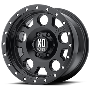 XD Series by KMC XD126 Enduro Pro 6 Satin Black
