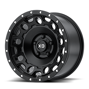 XD Series by KMC XD129 Holeshot 5 Satin Black
