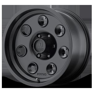 XD300 Pulley Satin Black 6 lug
