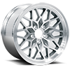 5 LUG 4TH GEN SNOWFLAKE (SERIES 616) SILVER MACHINED