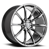 5 LUG AFF05 BLACK AND CHROME