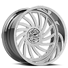 5 LUG VORNADO POLISHED