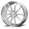 5 LUG ABL-19 BRUSHED SILVER