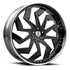 5 LUG FS31 YELLOW AND BLACK