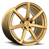 5 LUG MONOBLOCK 100 HI LUSTER GOLD