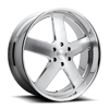 6 LUG BALLER - X84 BRUSHED W/ POLISHED LIP