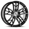 5 LUG CLV-39 GLOSS BLACK MACHINED
