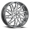 6 LUG DS656 CHROME PLATED