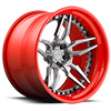 5 LUG ATTACK 5 - XA40 BRUSHED DDT | RED HOOP
