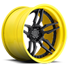 5 LUG ATTACK 5 - XA40 MATTE BLACK | GLOSS YELLOW LIP