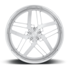 5 LUG XB82 26X10 | BRUSHED FACE/ POLISHED ACCENTS / POLISHED LIP