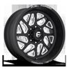 8 LUG FF51D - SUPER SINGLE FRONT MATTE BLACK & MILLED