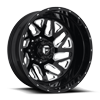 8 LUG FF51D - REAR GLOSS BLACK & MILLED
