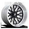8 LUG FFC80   CONCAVE GLOSS BLACK & BRUSHED