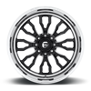 8 LUG FF80 | CONCAVE GLOSS BLACK W/ POLISHED LIP