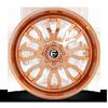 8 LUG FFC80   CONCAVE ROSE GOLD & MILLED