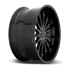 5 LUG FORM GLOSS BLACK