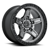 5 LUG KICKER 5 - D698 ANTHRACITE CENTER W/ BLACK LIP