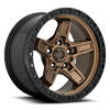 5 LUG KICKER - D699 BRONZE CENTER W/ BLACK LIP