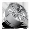 6 LUG KNUCKLE SIX - F227 BRUSHED W/ GLOSS CLEAR