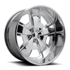 5 LUG MALIBU - U457 POLISHED