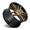5 LUG METHOS - M195 20X10 | BRONZE W/ GLOSS BLACK LIP