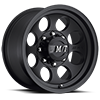 8 LUG CLASSIC III BLACK SATIN BLACK W/CLEAR COAT