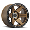 6 LUG MR610 BRONZE W/ BLACK RING