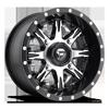 4 LUG NUTZ - D541 - UTV BLACK & MACHINED FACE