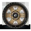 5 LUG PODIUM - D617 BRONZE W/ BLACK LIP