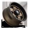 8 LUG PODIUM - D617 18X9 +1 | BRONZE W/ BLACK LIP