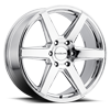 6 LUG 156C SURGE CHROME