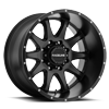 8 LUG 930 SHIFT MATTE BLACK - 20X12