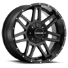 5 LUG 931M INJECTOR 20X12 SATIN BLACK