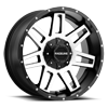 5 LUG 931M INJECTOR 20X12 BLACK MACHINED