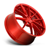5 LUG SECTOR - M213 20X9 CANDY RED