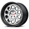 5 LUG VF309 SATIN BLACK MACHINED FACE