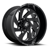 8 LUG VORTEX - D637 GLOSS BLACK & MILLED