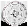 4 LUG VW BAJA SPOKE (SERIES 70) WHITE