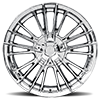 5 LUG V10 INFLUX CHROME