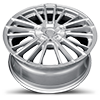5 LUG V10 INFLUX GLOSS SILVER MACHINED