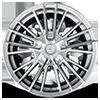 5 LUG V10 INFLUX GLOSS SILVER MACHINED