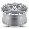 5 LUG V18 VERVE GLOSS SILVER MACHINED